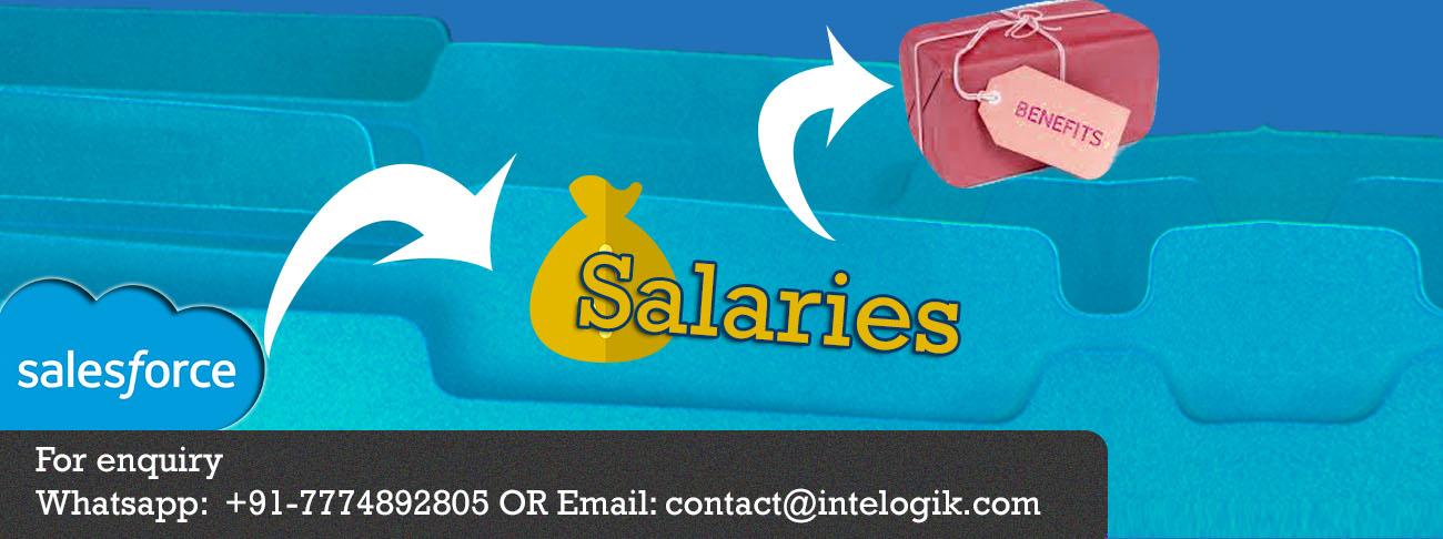 Salesforce salaries and benefits